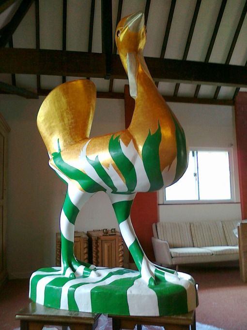 This Go Bustard is in residence at the stonehenge brewery nicknamed 'DRATSUB'