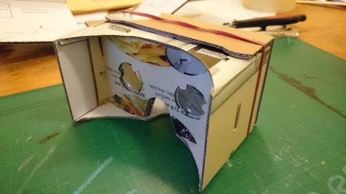 My DIY google cardboard