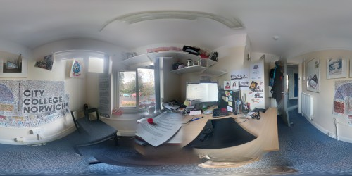 360 panosphere in my office