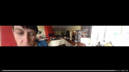 Screengrab from test go pano 360 video shot